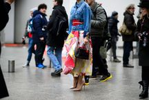Fashion Week Street Style / the craziest, the funniest, the most stylish and outrageous outfits from this global masquerade called Fashion Week