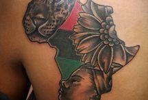 Africa tattoos