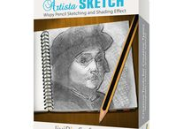 Artista Sketch / Create a sketch from your photo with wispy lines and delicate shading. No need to handle a pencil to feel like an artist, the only requirement is art appreciation—we will take care of the rest! Available on Mac/Win/iOS
