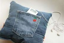 Upscale Jean pillow