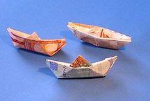 Geldgeschenke -  Geld originell falten