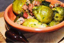 Cavolini di Bruxelles / Ricette con i cavolini di Bruxelles Recipes with Brussels sprouts