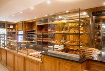 Bakkerijen / Antiques & Design heeft een ruime ervaring in de inrichting van bakkerijen, chocolateries en biscuiteries.