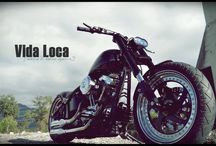 "Softail Harley ""Hurricane"" Designed by Vida Loca Choppers / Softail Harley Hurricane Designed by Vida Loca Choppers in 2012"