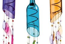 vínové flaše