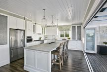 Hampton-style Kitchens