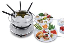 Fondue Like the Swiss / Who doesn't love fondue? Cheese, meat or chocolate....we love them all