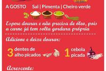 #Receitas Salgadas / SALGADOS