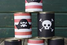 Pirate Party Ideas / Pirate Party Ideas for kids, for boys, for girls, for adults, Ring Toss, Food, Games, Decorating, Decorations, DIY, printables, activities, table deocrations, invitations, backdrop