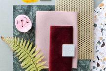 Design   Material Sample Boards