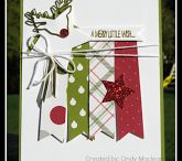 Christmas Cards for Sale / All these cards were made using Stampin' Up! products. They are $4 each of 3 for $10 (Canadian $). Pick up at my home. Shipping can be arranged - postage extra.