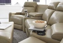 Relax and recline your cares away! / Palliser Leather and Fabric Sofas, Sectionals, Recliners, Chairs