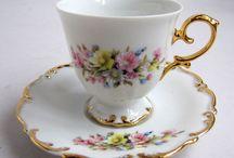 Чайные чашки, cup tea, time of clock / все для чаепития, коллекция чашек, стаканов и чайников. фотографии, картины, натюрморт.