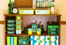 Classroom Organization / ways to fit all the stuff in a classroom, without going crazy