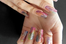 Artistic Polish Nail Art / Nail art created using Artistic nail polish. / by Nail Art Gallery