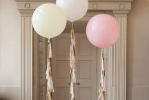 Balloons with tassel
