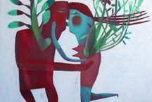 Marina Anaya / Pinturas, grabados y otras cosas bonitas