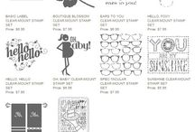 Stampin' Up! Product Must Haves! / by Aly Stamps