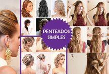 Penteados / Confira aqui fotos de penteados para formatura, para noivas e para festas. Veja as nossas dicas de penteados simples para cabelo curto, médio e cacheados.