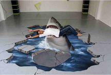 Art: 3D Painting/Street art/mural / street art, 3D painting, 3D pen & ink / mural