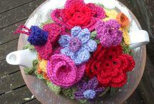 Crochet Flowers - Gehaakte bloemen