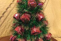 Конфеты на Елке / подарки к Новому Году и Рождеству