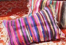 Kussens / Kussens met stof en textiellijm
