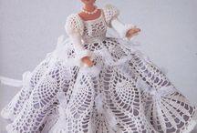 fashion doll crochet / Elly Dansen-Claus tarafından