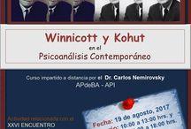 Eventos psicoanalíticos / Eventos dirigidos a psicoanalistas y candidatos en formación.