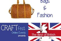 #CRAFTfest - Bags & Fashion Category - Sept 2016 / International sellers with stalls in the Textiles category of the September #CRAFTfest Event share with us their creations. http://www.craftfest-events.com/uk-events.html and http://www.craftfest-events.com/pride-of-america-form.html