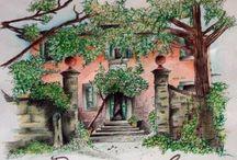 Bramasole - Under Tuscan sun - by Frances Mayes