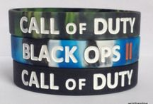 Call of Duty / Call of Duty Wristbands / by Haircutideas