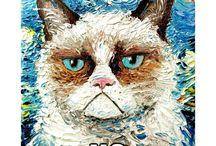 Grumpy cat (Tard)