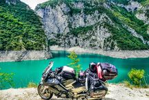 Motorcycle Travel / Four wheels move the body. Two wheels move the soul.