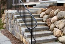 Iron Railings / A wrought iron railing will add strength and elegance to your home or business. Ironwork has been used in Architecture for 100's of years and is always in style. Submit your ideas or let us customize an iron railing to perfectly accent the exterior or interior of your home. Whether it is fully functional or strictly artistic we can provide you with one of a kind pieces.