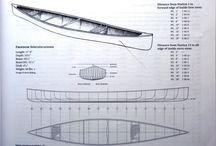 Building cedar canoe
