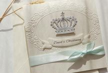 Christening and Baptism invitation