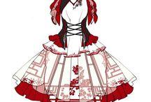 chinese lolita vêtement