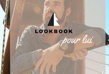 Lookbook...pour lui / A l'atelier des montres nous aimons la mode. Découvrez nos coups de coeur et gardez le style!