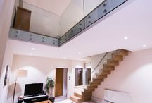 Zig Zag Staircases / Couple of bespoken projects of Zig Zag Staircases if you like to see more visit http://exclusivestairs.london