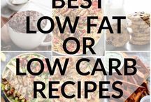 Low fat and carb recipes