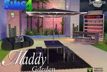 Jardin - Sims 4