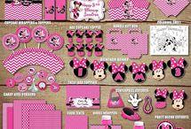 Minnie Birthday things