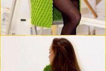 ubrania na szydełku