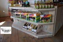 Winkels en balie,s , toonbanken / Leuke meubels voor winkelinrichtingen zoals, toonbanken , balie's kasten , kassa's etc