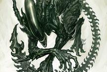 Xenomorphs! Predators!