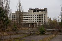 Chernobyl and Prypjat / Pictures of the abandoned towns that were evacuated after the Chernobyl nuclear disaster in 1986 / by Cees de Vreugd