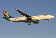 Planes, planes and more planes / by South African Airways
