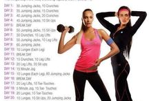 Workout challenges♥♥ / by Andrea Bray