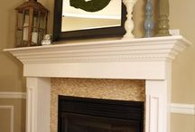 Fireplace Surrounds / Fireplace Styles / by Marlene Brown